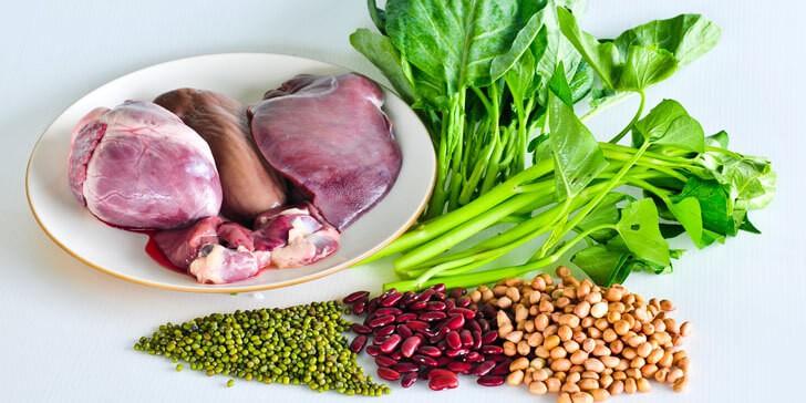 Lista Alimentos Ricos en Hierro