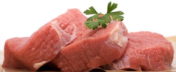 carne de ternera gran aporte en hierro para prevenir la anemia