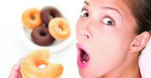 ganas de comer dulce cuando estamos a dieta