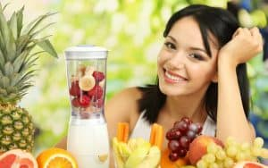 3 batidos de frutas para bajar de peso