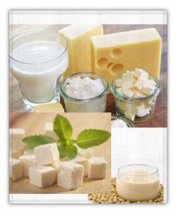 proteinas de lacteos