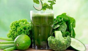 3 batidos verdes para la barriga