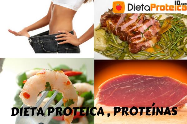 Dieta proteica o proteínas