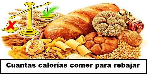 Cuántos carbohidratos se debe consumir diariamente para adelgazar