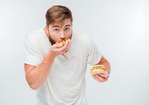 No comer comida basura para bajar de peso rapido en 3 dias