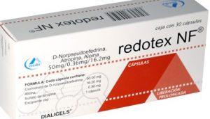 pastillas redotex nf