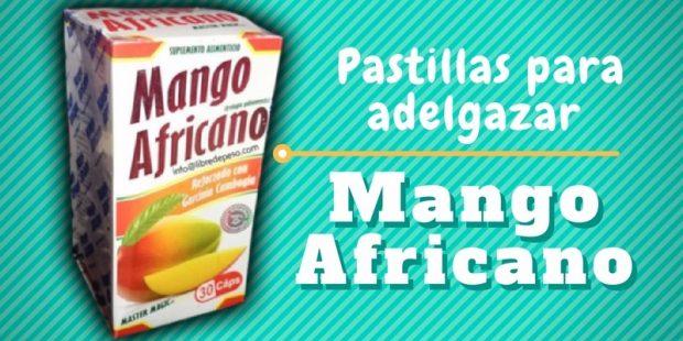 Pastillas de mango Africano