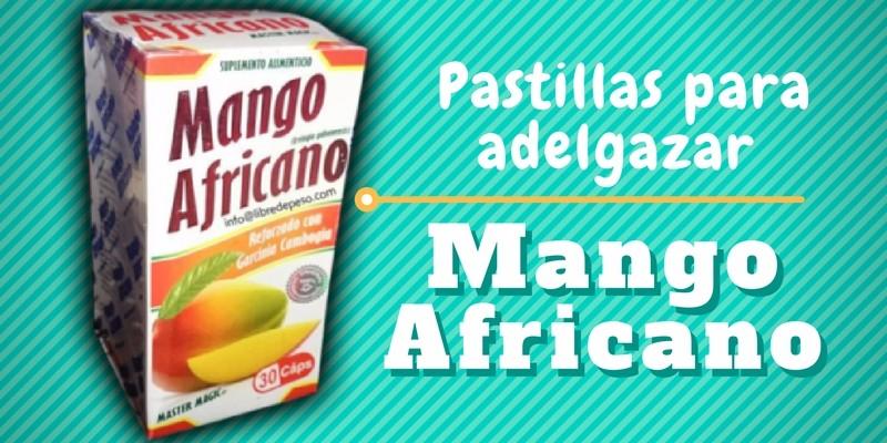 Pastillas de Mango Africano.