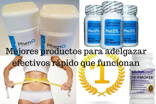 Productos para perder peso rapido