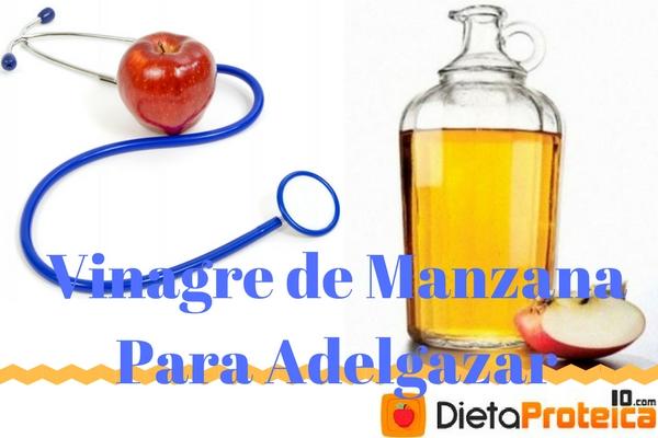 como beber vinagre de manzana para adelgazar
