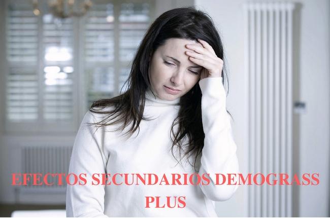 EFECTOS SECUNDARIOS DEMOGRASS PLUS