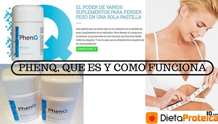PhenQ,Que es y Cómo Funcionan, los Mejores Precios Aquí