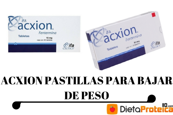 pastillas acxion y dieta cetogenica