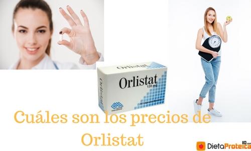 Cuáles son los precios de Orlistat