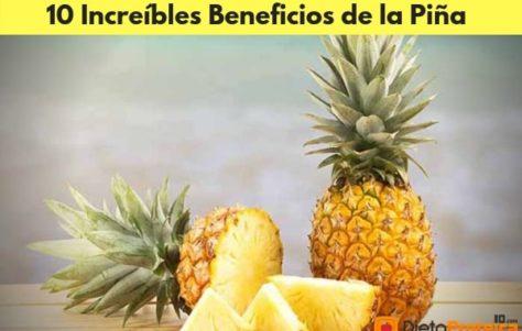 10 Increíbles Beneficios de la Piña para la Salud