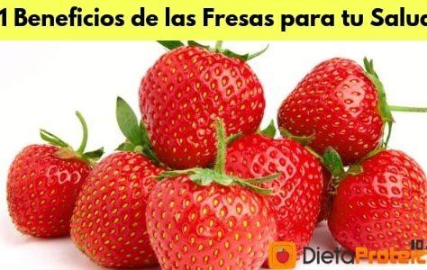 11 Increíbles Beneficios para la Salud de las Fresas