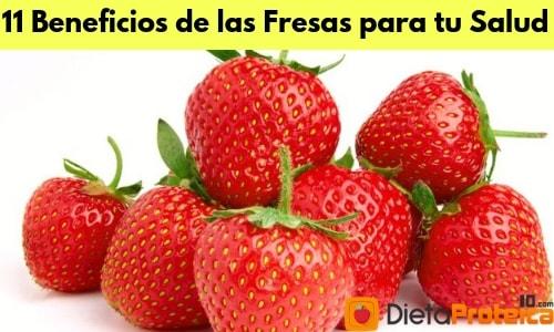 11 Beneficios de las Fresas para tu Salud