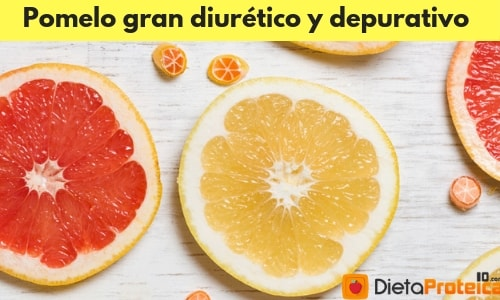 Pomelo gran diurético y depurativo
