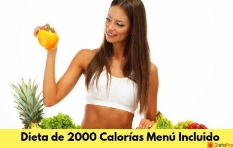 Dieta de 2000 Calorías