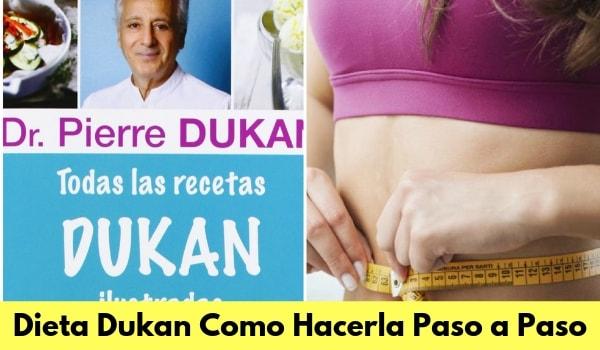Dieta dukan con recetas y descargarlas en pdf