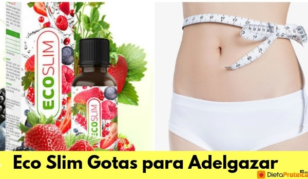 Eco Slim Gotas para Adelgazar
