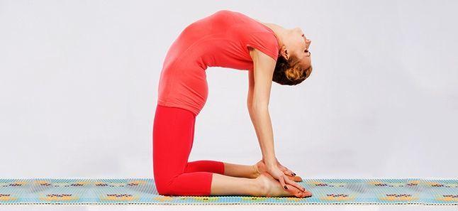 Resultado de imagen para pose de yoga camello